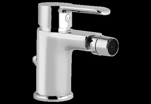 Un mitigeur bidet chromé pour la salle de bain