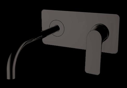 Un mitigeur de lavabo encastré