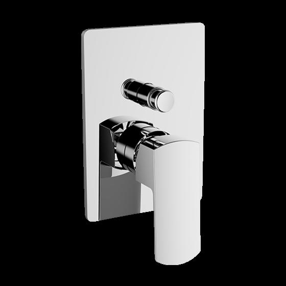 Un mitigeur bain-douche encastré 2 voies