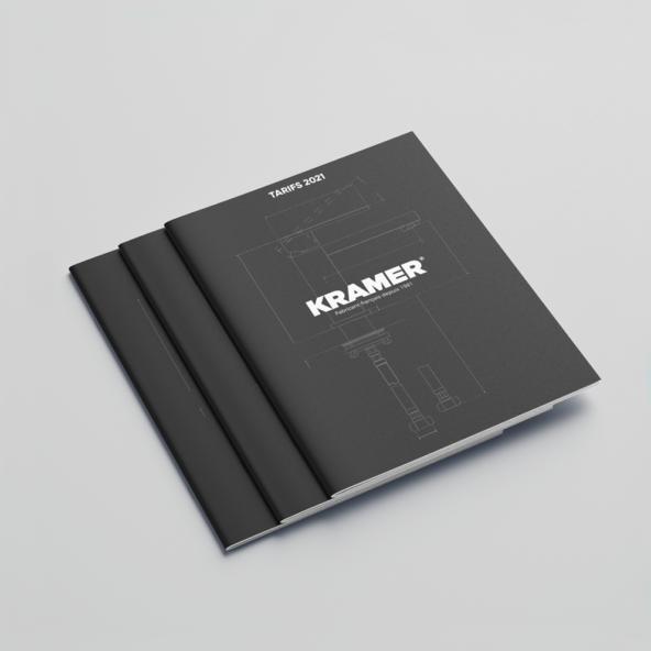 3 catalogues KRAMER posés